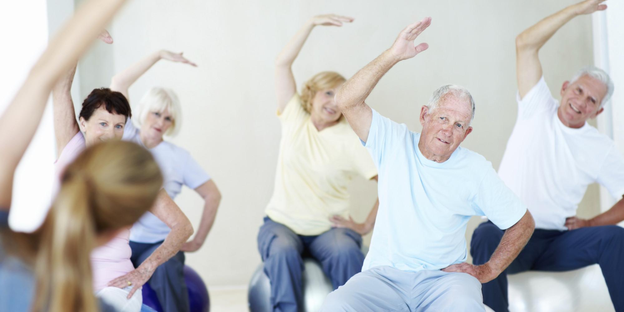 Umirovljenici vježbaju